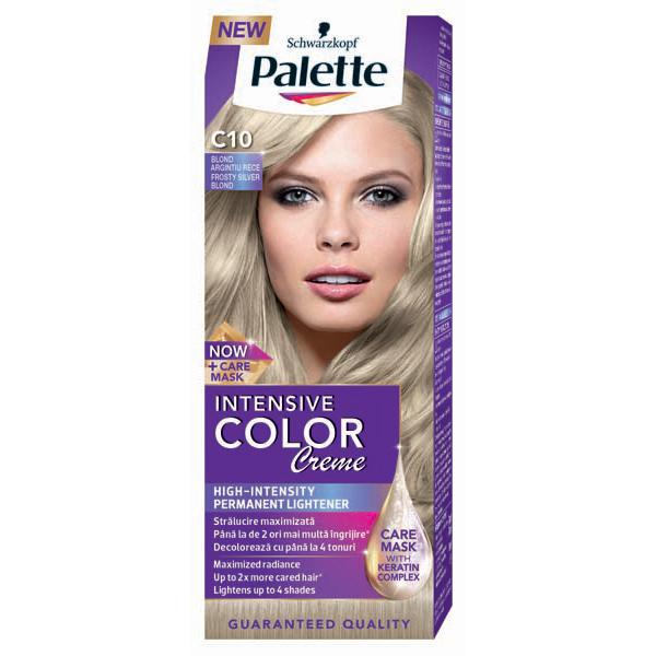 Vopsea De Par Palette Intensive Color Creme C10 Blond Argintiu Artic
