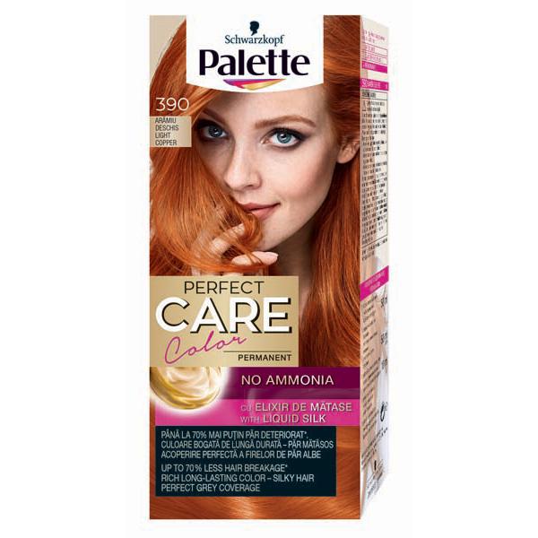 Vopsea De Par Palette Perfect Care Creme 390 Aramiu Deschis 115ml