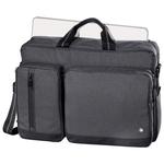 "Geanta laptop HAMA Hailfax, 15.6"", politex, negru"