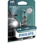 Bec auto far halogen PHILIPS H1 X-treme Vision+130%, 12V, 55W, P14.s, blister 1 bucata