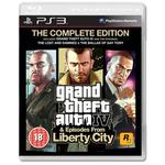 Grand Thef Auto IV (GTA 4) Complete Edition PS3