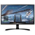 "Monitor LED IPS LG 24UD58-B, 23.8"", 4K UHD, negru"