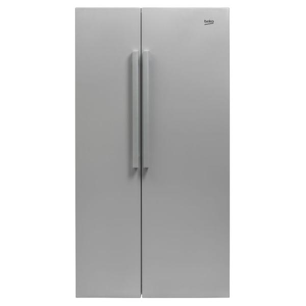 Side-by-Side BEKO GN163022S, 558L, A+, argintiu