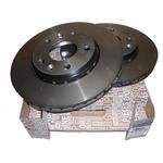 Set discuri frana ventilate DACIA pentru Duster diesel si Renault Megane 3,  280 mm