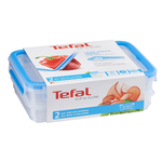Set caserole TEFAL K3028812, plastic, 2l + 0.6l