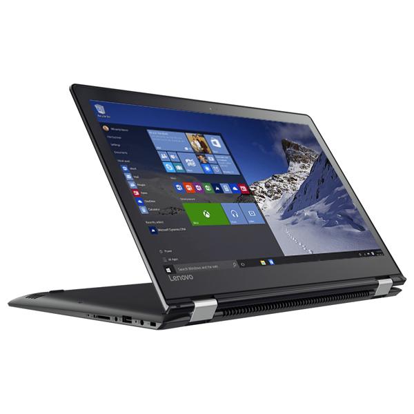 "Laptop 2 in 1 LENOVO Yoga 510-15IKB, Intel® Core™ i3-7100U 2.4GHz, 15.6"" Full HD Touch, 4GB, 1TB, Intel® HD Graphics 620, Windows 10 Home"