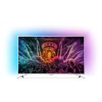 Televizor LED Smart Ultra HD, 123cm, Android, Ambilight, PHILIPS 49PUS6561/12