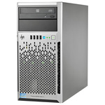 Server HP ProLiant ML310e Gen8 v2, Intel Xeon E3-1220 v3 pana la 3.5GHz, 4GB, 1TB, 350W, Tower 4U