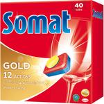 Tablete pentru masina de spalat vase SOMAT Gold, 40 tablete