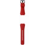 Curea pentru Smartwatch SAMSUNG Gear S3, Silicon, Orange Red