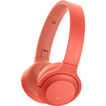 Casti on-ear cu microfon Bluetooth SONY WHH800R, Red