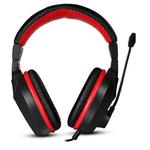 Casti gaming MARVO H8321, negru-rosu