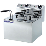 Friteuza electrica EUROMAX EMX-10351C, 10l, inox