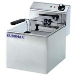Friteuza electrica EUROMAX EMX-10360C, 8l, inox