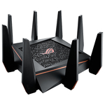 Router Wireless Gigabit ASUS ROG Rapture GT-AC5300, Tri-Band 1000 + 2167 + 2167 Mbps, USB 3.0, negru