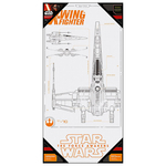 Poster Star Wars Episode 7 - Xwing Blue