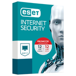 Antivirus ESET NOD32 Internet Security V10, 1 an + 1an gratuit, 1 utilizator, Box