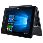 "Laptop 2 in 1 ACER One 10 S1003-101W, Intel® Atom™ Z8350 pana la 1.92GHz, 10.1"" Touch, 4GB, eMMC 128GB, Intel® HD Graphics 500, Windows 10 Home"