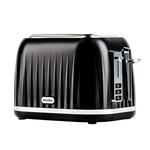 Prajitor de paine BREVILLE Style VTT756X-01, 2 felii, negru