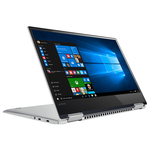"Laptop 2 in 1 LENOVO Yoga 720-13IKB, Intel® Core™ i7-7500U pana la 3.5GHz, 13.3"" Full HD Touch, 8GB, SSD 256GB, Windows 10 Home, Platinum"