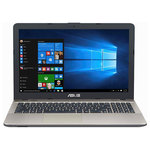 "Laptop ASUS A541UA-GO1269T, Intel® Core™ i3-6006U 2.0GHz, 15.6"", 4GB, 500GB, Intel® HD Graphics 520, Windows 10"