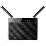 Router Wireless TENDA AC9, 300 + 867 Mbps, Gigabit, USB 2.0, negru