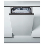 Masina de spalat vase incorporabila WHIRLPOOL ADG 201, 10 seturi, 45 cm, 6 programe, A+