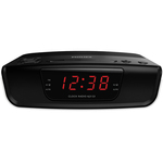 Radio desteptator PHILIPS AJ3123/12, Gentle Wake, FM, negru