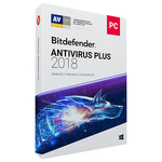 BITDEFENDER Antivirus Plus 2018, 1 an, 3 PC, Retail