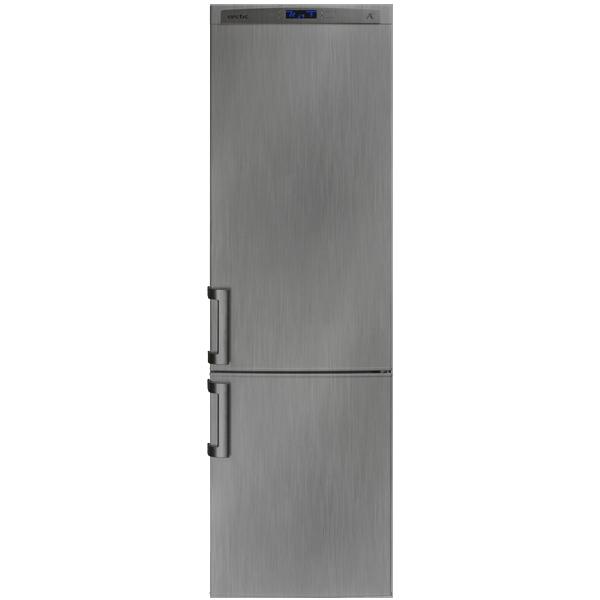 Combina frigorifica ARCTIC AK386VDS+, 331l, A+, argintiu
