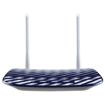 Router Wireless TP-LINK Archer C20 AC750, Dual-Band 300 + 433Mbps, WAN, LAN, USB 2.0, albastru