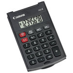 Calculator de birou CANON AS-8, 8 cifre, gri inchis