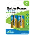 Baterii alcaline GOLDEN POWER Plus, LR20(D), 2 bucati