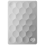 Hard Disk Drive portabil SEAGATE Backup Plus Ultra Slim STEH2000200, 2TB, USB 3.0, platinum