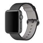 Bratara pentru APPLE Watch Seria 1, 38 mm, nylon, black