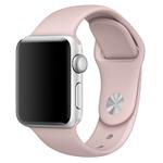 Bratara pentru APPLE Watch Seria 1, 38 mm, silicon, pink