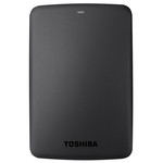 Hard Disk Drive portabil TOSHIBA Canvio Basics, 2TB, USB 3.0, negru