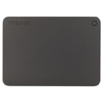Hard Disk Drive portabil TOSHIBA Canvio Premium, 2TB, USB 3.0, gri inchis metalizat