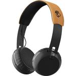 Casti on-ear SKULLCANDY Grind Wireless S5GBWJ-543,  Black Tan