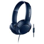 Casti on-ear cu microfon PHILIPS SHL3075BL/00, Albastru