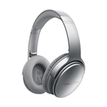 Casti on-ear cu microfon Bluetooth BOSE Quiet Comfort 35, Noise Cancelling, argintiu