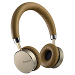 Casti on-ear cu microfon Bluetooth PIONEER SE-MJ561BT-T, maro