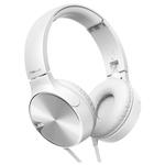 Casti on-ear cu microfon PIONEER SE-MJ722T-W, alb