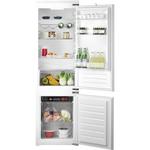 Combina frigorifica incorporabila HOTPOINT BCB 7525  AA, 290l, A+, argintiu