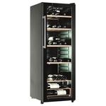Racitor de vinuri CANDY CCV 1420 GL, 200l, 142 cm, B, 70 sticle, negru