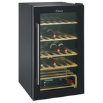 Racitor de vinuri CANDY CCV 200 GL, 122 l, 84 cm, B, 40 sticle, negru