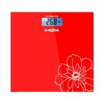 Cantar de persoane E-BODA CEP1111, electronic, 150kg, sticla, rosu