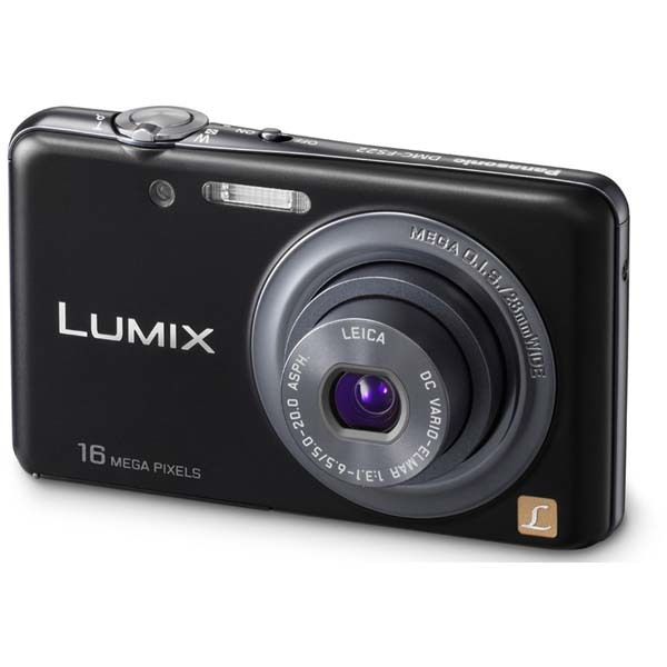 Camera foto digitala PANASONIC DMC-FS22, 16.1 Mp, 4x, 3 inch, negru