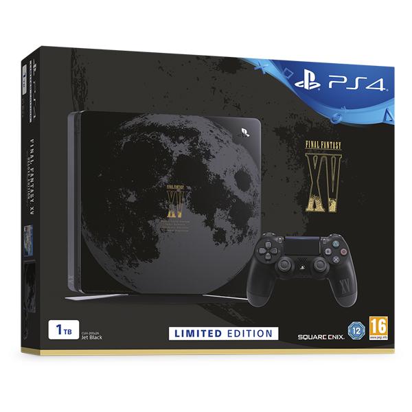 Consola Sony Playstation 4 SLIM, 1TB, negru + Final Fantasy XV Bundle