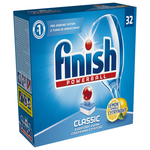 Detergent vase FINISH Clasic Lemon 32 tablete pentru masina de spalat vase